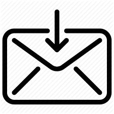 Email envelope inbox line icon mail mail inbox received mail