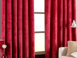 Burgundy Grommet Blackout Curtains by Curtains Burgundy Velvet Blackout Curtains Stunning Black