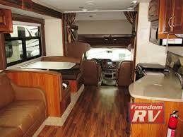 Jayco Greyhawk Class C RV Motorhome Living Area