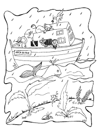 Noahs Ark Rainbow Coloring Pages 2