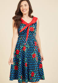 pattern pairings midi dress modcloth