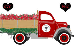 100 Cape Cod Cars And Trucks Rose Truck Roses Graphic By Nisi Creative Fabrica