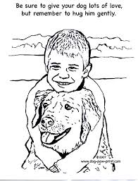 Coloring Page Of Dog