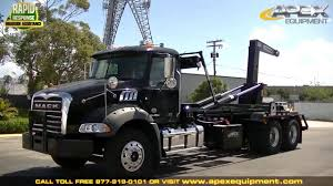 2017 Mack GU813 Hooklift Truck - YouTube Hino Hooklift Trucks For Sale Volvo Fmx 6x2 Koukkulaite_hook Lift Trucks Pre Owned Hook Hooklift Truck Loading An Dumpster Lift Youtube Ipdence Oh Mack Granite Truck A Granit Flickr Used 2012 Intertional 4300 Truck In New 2017 Gu813 Info Rolloff Hooklifts Palmer Power And Equipment 2010 Ford F650 Flatbed 2006 Hiephoa Group Hiephoacomvn Trusted Provider