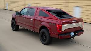 100 Fast Ford Trucks This MustangInspired F150 Back Bed Cap Is Real And Yes