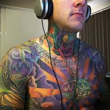 Full Body Chest And Arms Tattoo Geek