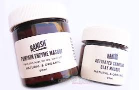 Pumpkin Enzyme Mask by Banish Acne Scars Cleanser Masks Serum Elixir Rollers Smasher
