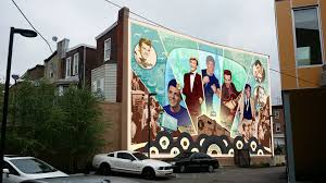 Philly Mural Arts Map by A New Mural Brings South Philly U0027s Own American Music Icons To