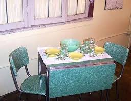 Vintage 50s Kitchen Table And Chairs Diner Retro