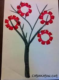 faire un arbre japonais avec des fleurs roses