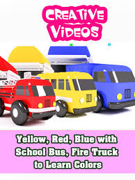Amazon.com: Yellow, Red, Blue With School Bus, Fire Truck To Learn ... Electric Toy Truck Not Lossing Wiring Diagram Hess Trucks Classic Toys Hagerty Articles Monster Jam Videos Factory Garbage For Kids Youtube Monster Truck Kids Toy Big Video For Children Amazoncom Yellow Red Blue With School Bus Fire To Learn Garbage In Mud Shopkins Season 3 Scoops Ice Cream Mini Clip Disney Elsa