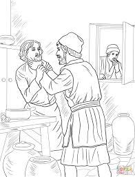 Click The Unmerciful Servant Coloring Pages To View Printable