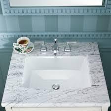 kohler archer rectangular undermount bathroom sink reviews wayfair