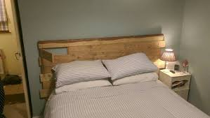 Chic Gavins Pallet Wood Headboard Oxford Wood Recycling Along With