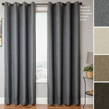 Jc Penney Curtains With Grommets by Charcoal Gray Grommet Curtains Curtain Ideas
