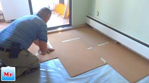 how to install cork underlayment for laminate flooring
