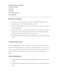 Summaries For Resumes Examples Example Customer Service Resume