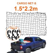 1.5x2.2m Strong Cargo Net Car Trailer Skip Truck Van Extend Mesh ... New Heavy Duty Trailer Net Truck Cargo W Bungee Marksign 100 Waterproof Truck Cargo Bag With Net Fits Any Gladiator Heavy Duty Medium Mgn100 Auto Accsories Headlight Bulbs Car Gifts Trunk Mesh Smartstraps Bungee Plastic Hooks At Lowescom Heavyduty Pickup Securing Gear Tailgate Down 20301 6x8 Ft Long Bed Restraint System Bulldog Winch Upgrade Cord 47 X 36 Elasticated Wwwtopsimagescom Gorilla Boulder Distributors Inc