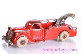 Hubley Cast Iron Tow Truck In Red And Chrome- For Sale *sold ... Tow Truck Old For Sale 1950s Tow Truck While Not The Same Make As Mater This Is A Ford Trucks Wrecker Heartland Vintage Pickups Restored Original And Restorable 194355 Rusty On A Dirt Road Stock Image Of Rusting Bed Options Detroit Sales Lost Found Federal Kenworth Photos Images Junk Cars Roscoes Our Vehicle Gallery Rust Farm 1933 Dodge For 90k Not Mine Chrysler Products American Historical Society