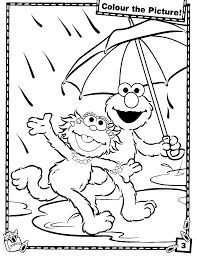Download Coloring Pages Elmo Page Free Printable For Kids Drawing