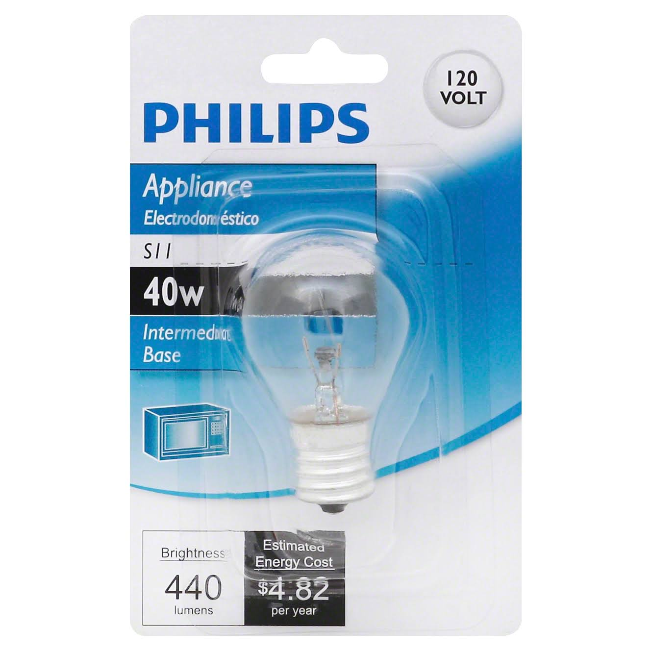 Philips Hi-Intensity S11 Intermediate Base - 40W
