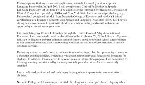 Sample Resume For Speech Language Pathologist Download By School