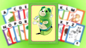 Interactive Letter Factory Flash Cards For Tag Junior Letter Names