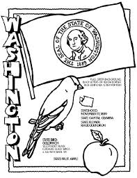 Washington State Symbol Coloring Page By Crayola Print Or Color Online