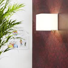 wandleuchten 1 flg wand leuchte le schlafzimmer chrom