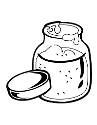 Cookie Jar Clip Art Jam Coloring Page In