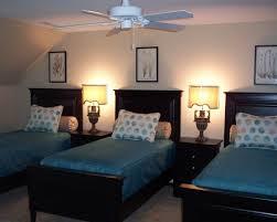 3 Beds Bedroom Decorating IdeasBedroom