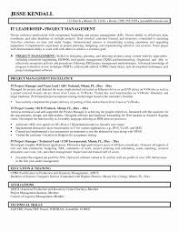 Construction Project Manager Resume Sample Inspirational Contract Management Skills Best Of