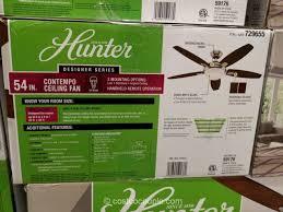 Hunter Fan Contempo 52 Ceiling Fan by Hunter Designer Series 54 Inch Contempo Ceiling Fan