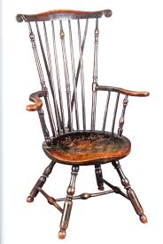 Rare Fan-Back Windsor Armchair, Philadelphia, Ca. 1750-65 ...