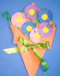 Arts And Crafts With Construction Paper Second Grade Activities Flowers