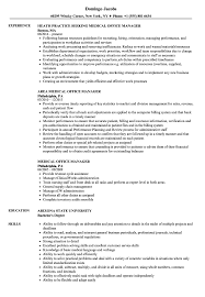Medical Office Manager Resume Samples | Velvet Jobs Dental Office Manager Resume Sample Front Objective Samples And Templates Visualcv 7 Dental Office Manager Job Description Business Medical Velvet Jobs Best Example Livecareer Tips Genius Hotel Desk Cv It Director Examples Jscribes By Real People Assistant Complete Guide 20