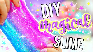 DIY Unicorn Glitter Slime Rainbow How To Make What Do When Youre Bored Science Projects Hey Everyone