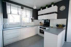 küche hochglanz weiß u form ohne geräte xavien