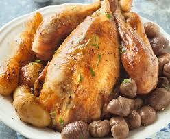 cuisiner le chapon chapon au miel de truffe à la cocotte minute recette de chapon