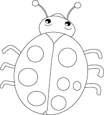 Good Ladybug Coloring Pages 77 For Your Free Book With