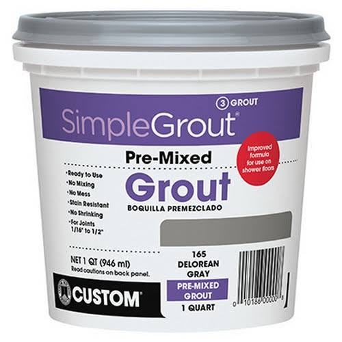 Custom Building Products Simple Grout Pre-Mixed Grout - .946l