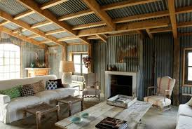 French Farmhouse With Corrugated Metal