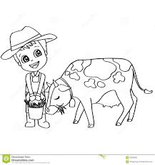 Droit Des Enfants Manger Coloriage 4598 Livre De Coloriage Vache
