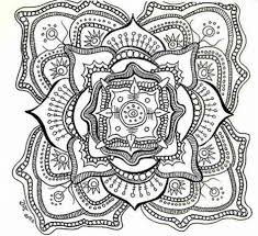 Download Coloring Pages Adult Free Printable Mandala For Adults