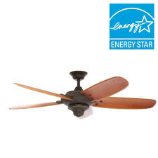 Home Depot Ceiling Fans by Monte Carlo Clarity Max 56 In Indoor Outdoor Roman Bronze Ceiling