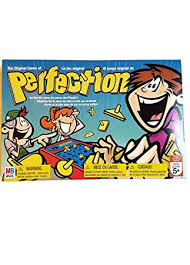 Classic PERFECTION Game By HASBRO Multilingual