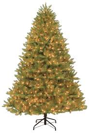 9 Ft Flocked Pre Lit Christmas Tree by 100 Of The Best Christmas Trees