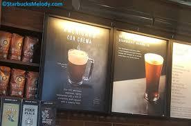 The Americano Con Crema A Starbucks Treat With Vanilla And Cinnamon