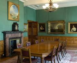 Dining Table In Room At Sudley House