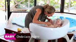Puj Soft Infant Bathtub by Onda Bath Youtube
